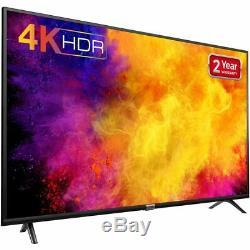 Tcl 50dp628 4k Ultra Hd A + Téléviseur Led Intelligent 3 Hdmi