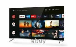 Tcl 50p715k 50 Pouces Ultra Slim 4k Hdr Smart Android Tv Wi-fi Et 2 Ans De Garantie