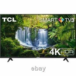 Tcl 55p610k 55 Pouces Tv Smart 4k Ultra Hd Led Freeview Hd 3 Hdmi