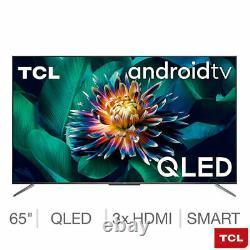 Tcl 65c715k 65 Pouces Qled 4k Ultra Hd Smart Android Tv Garantie Gratuite De 5 Ans