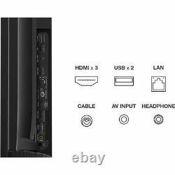 Tcl 65p610k 65 Pouces Tv Smart 4k Ultra Hd Led Freeview Hd 3 Hdmi