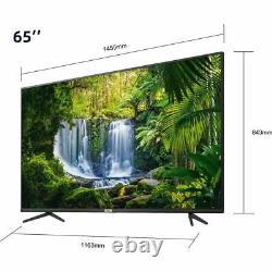 Tcl 65p615k 65 Pouces Tv Smart 4k Ultra Hd Led Freeview Hd