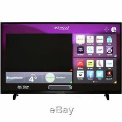Techwood 55ao6usb Téléviseur Led Smart Hd + Hdmi 4k 55 Pouces 4k