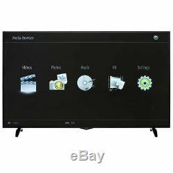 Techwood 65ao6usb Téléviseur À Del Ultra Hd 4k Intelligente De 65 Pouces Avec Technologie Freeview Wi-fi Intégré