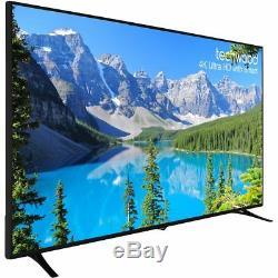 Techwood 75ao7usb Téléviseur Del Intelligent 3 Pouces 4k Ultra Hd A +, 3 Hdmi