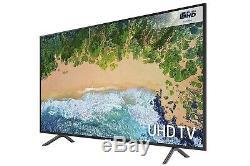 Téléviseur Intelligent Hdr Samsung Ue49nu7100 De 49 Pouces 4k Ultra Hd, Charbon De Bois Noir