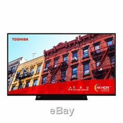 Toshiba 43vl3a63db 43 Pouces Intelligent 4k Ultra Hd Led Tv Tnt Lire L'enregistrement Usb