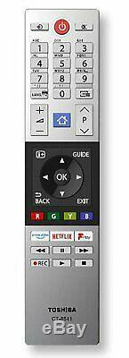 Toshiba 49ul5a63dbs 49 Pouces 4k Ultra Hd Hdr Intelligent Wifi Tv Led