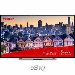 Toshiba 55ul5a63db Ul5a Téléviseur Intelligent 4k Ultra Hd Led Freeview Hd 4 Hdmi